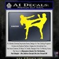UFC Fighters Decal Sticker Standing Yellow Laptop 120x120