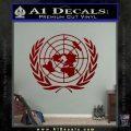 United Nations Crest Logo Emblem D1 Decal Sticker DRD Vinyl 120x120