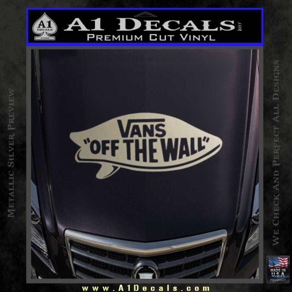 Vans Off The Wall Surf Decal Sticker 187 A1 Decals