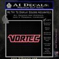 Vortec Decal Sticker Pink Emblem 120x120