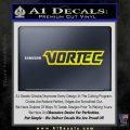 Vortec Decal Sticker Yellow Laptop 120x120