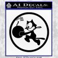 WWII Ace Butch OHares Hellcat Decal Sticker Black Vinyl 120x120