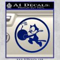 WWII Ace Butch OHares Hellcat Decal Sticker Blue Vinyl 120x120