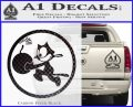 WWII Ace Butch OHares Hellcat Decal Sticker Carbon FIber Black Vinyl 120x97