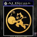 WWII Ace Butch OHares Hellcat Decal Sticker Gold Vinyl 120x120