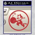WWII Ace Butch OHares Hellcat Decal Sticker Red 120x120