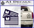 Wu Tang Flag Decal Sticker Wunited States Of America PurpleEmblem Logo 120x97