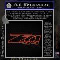 Z71 Off Road 4x4 Chevy GMC Ford Decal Sticker Orange Emblem 120x120