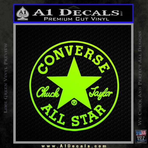 Chuck Taylor Decal Sticker Converse All Stars Cr 187 A1 Decals