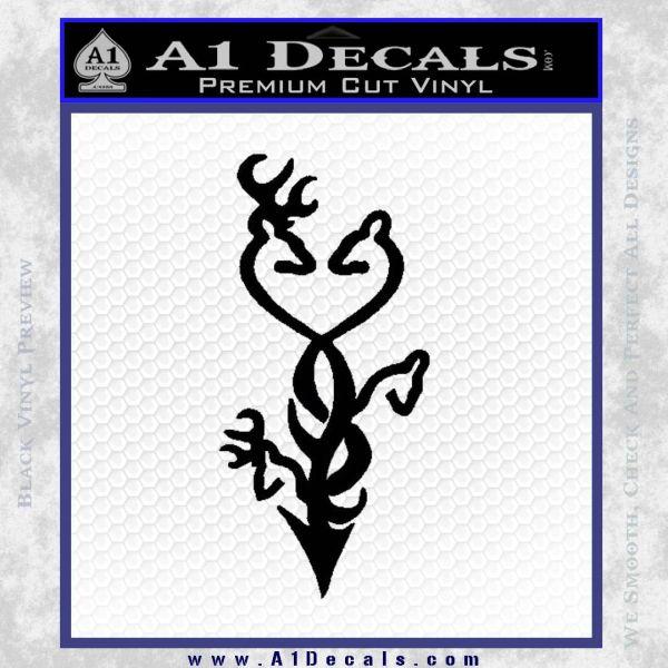 Browning Deer Family Arrow Buck Decal Sticker DRD Vinyl 6