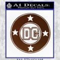 DC Comics Decal Sticker CR BROWN Vinyl 120x120