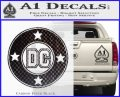 DC Comics Decal Sticker CR Carbon FIber Black Vinyl 120x97