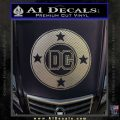 DC Comics Decal Sticker CR Carbon FIber Chrome Vinyl 120x120