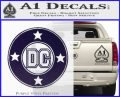 DC Comics Decal Sticker CR PurpleEmblem Logo 120x97