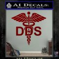 Dentist Dentistry DDS Symbol Decal Sticker DRD Vinyl 120x120