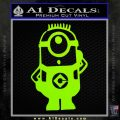 Despicable Me D12 Up Decal Sticker 13 120x120