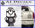 Despicable Me D12 Up Decal Sticker 18 120x97