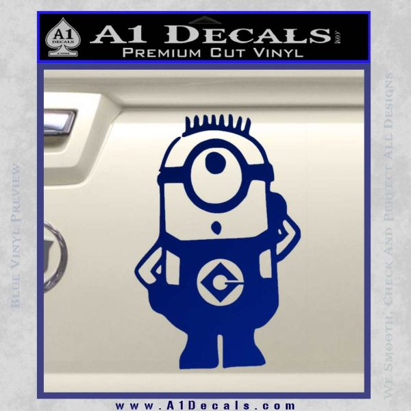 Despicable Me D12 Up Decal Sticker 20