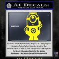 Despicable Me D12 Up Decal Sticker 3 120x120