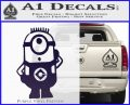 Despicable Me D12 Up Decal Sticker 8 120x97