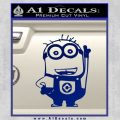 Despicable Me D13 Hand Point Up Decal Sticker 19 120x120