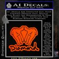 Diamond Hands D2 Decal Sticker Orange Emblem 120x120