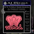 Diamond Hands D2 Decal Sticker Pink Emblem 120x120