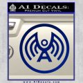 Doctor Who Archangel Network Logo Decal Sticker Blue Vinyl 120x120
