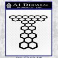 Doctor Who Torchwood Decal Sticker D1 Black Vinyl 120x120