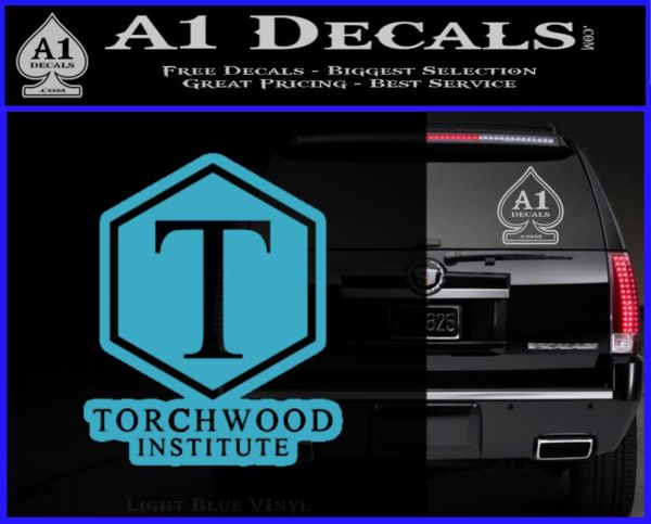 Doctor Who Torchwood Institute T Decal Sticker » A1 Decals