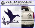 Duck In Swamp Decal Sticker PurpleEmblem Logo 120x97