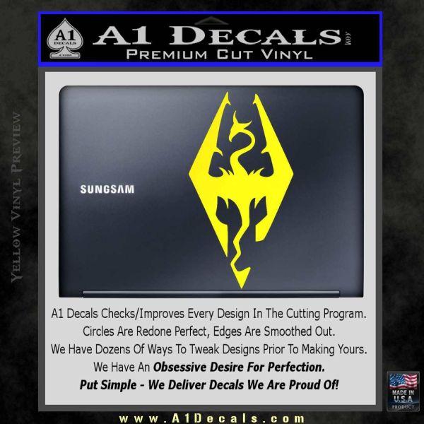 Elder Scrolls Skyrim Decal Sticker » A1 Decals