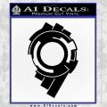 Ghost In The Shell Section 9 Logo Decal Sticker Black Vinyl 120x120