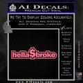 Hellabroke Dollar Decal Sticker Pink Emblem 120x120