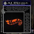 Hotwheels Vee Dub VW Volkswagen D1 Decal Sticker Orange Emblem Black 120x120