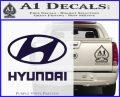 Hyundai Decal Sticker Full PurpleEmblem Logo 120x97