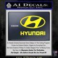 Hyundai Decal Sticker Full Yellow Laptop 120x120
