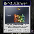 I Want To Believe UFO X files Decal Sticker Spectrum Vinyl Black 120x120