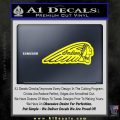 Indian Motorcycles D3 Decal Sticker Yellow Laptop 120x120