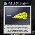 Indian Motorcycles Decal Sticker Headdress Yellow Laptop 120x120