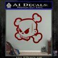 JDM Horror Skull D1 Decal Sticker DRD Vinyl 120x120