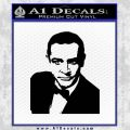 James Bond 007 Sean Connery Decal Sticker Black Vinyl 120x120