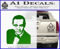 James Bond 007 Sean Connery Decal Sticker Green Vinyl Logo 120x97