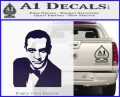 James Bond 007 Sean Connery Decal Sticker PurpleEmblem Logo 120x97