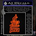 Java Script Code D2 Decal Sticker Orange Emblem 120x120