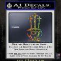 John 3 16 Decal Sticker Glitter Sparkle 120x120