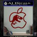 Jurassic Park Apple Decal Sticker DRD Vinyl 120x120