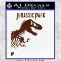 Jurassic Park Book Decal Sticker BROWN Vinyl 120x120