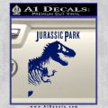 Jurassic Park Book Decal Sticker Blue Vinyl 120x120