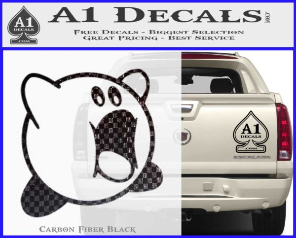 Kirby Eating Decal Sticker 187 A1 Decals